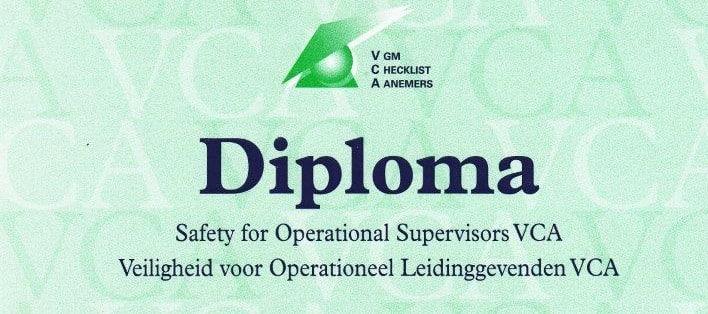 VCA Diploma halen